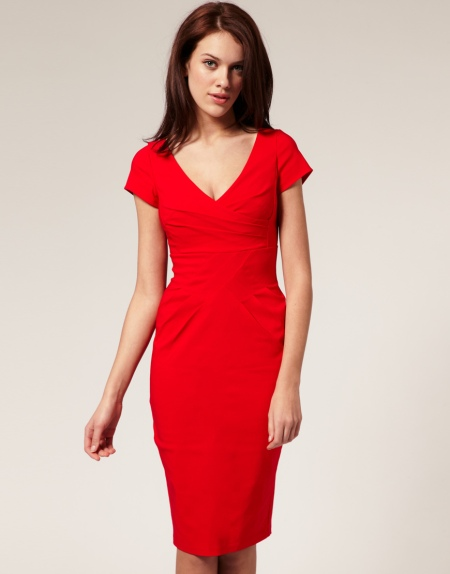 Cross over dress - Asos