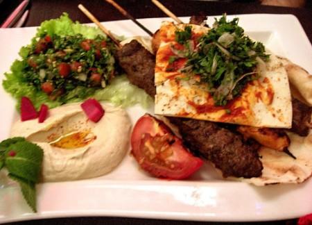Lebanese meal