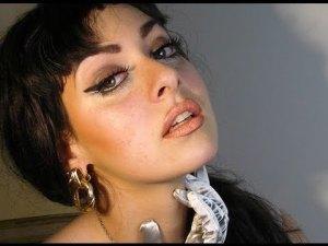 MasqueradeMakeup Sophia Loren look