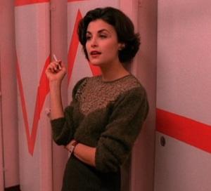 Audrey Horne Lace Sweater