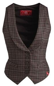 Brown Waistcoat from Esprit