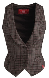 Brown Waistcoat from Esprit