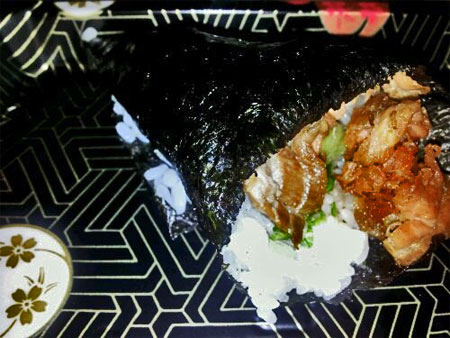 Chicken Hand Roll