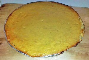 Finished Pumpkin Pie