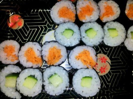 My Vegetable Nori Sushi