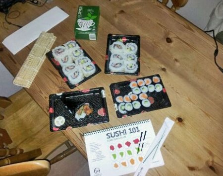 Some of the Sushi I Made Last Night