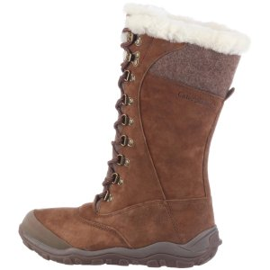 Cat Womens Caribou Fur Boots