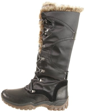 Rockport Womens Finna Fur Boots