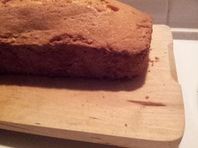 My first Madeira cake