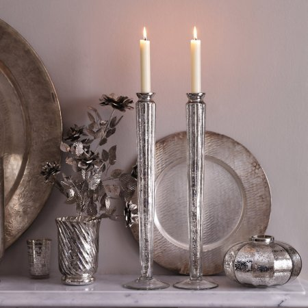 Tapered Candlesticks from The White Company