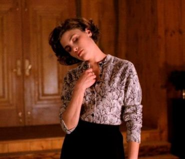 Audrey Horne's Tree Blouse