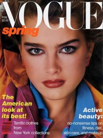 Brooke Shields and 80's fashion
