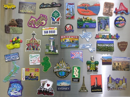 Dave Gorman's Fridge Magnet Collection