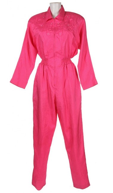 I once owned a hot pink jumpsuit