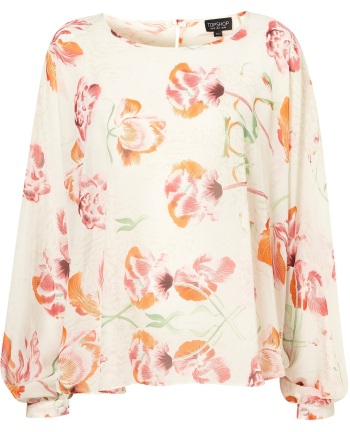 Floral Blouse from Topshop