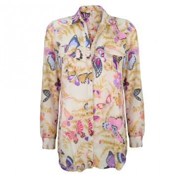Gerard Darel Butterfly printed blouse