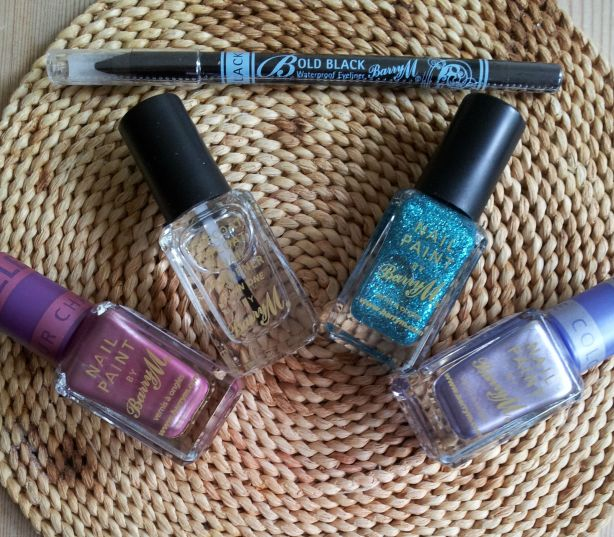 Barry M Nail Paints and Eyeliner