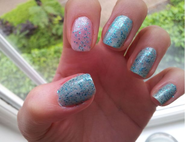 My finished nails