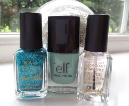 My trio of nail colours