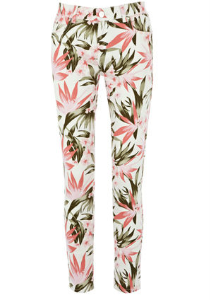 Oasis Tropical Cherry Crop Jeans