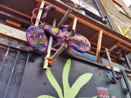 Knitted Street Art by Olek