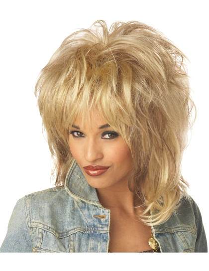 Tina Turner Style Wig from Joke