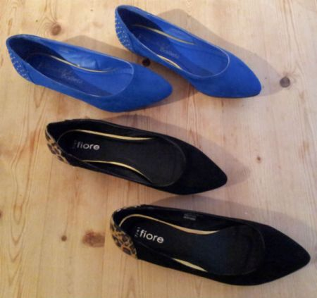 New ballet pumps from Matalan