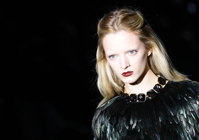 Gucci Gothic Look Autumn Winter 2012
