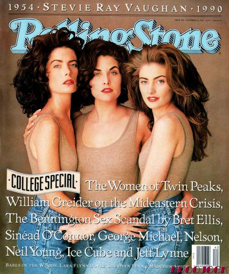Twin Peaks Rolling Stone Cover Otober 1990