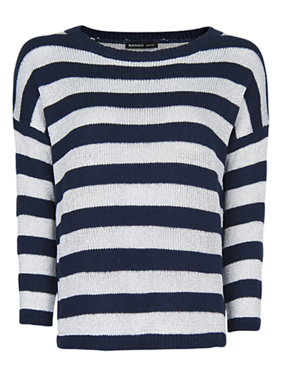 Mango Striped Jumper