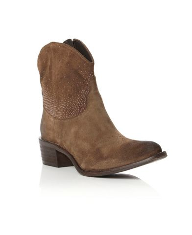 PIED A TERRE Oddy Studded Cowboy Boots
