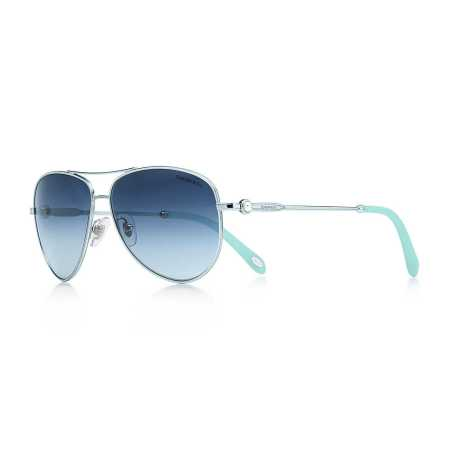 Tiffany Ziegfeld Aviator Sunglasses
