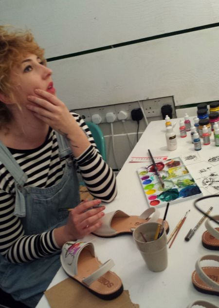 Emma the artist