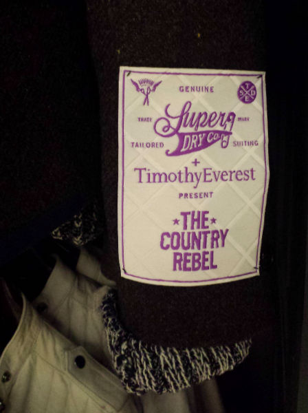 Superdry and Timothy Everest