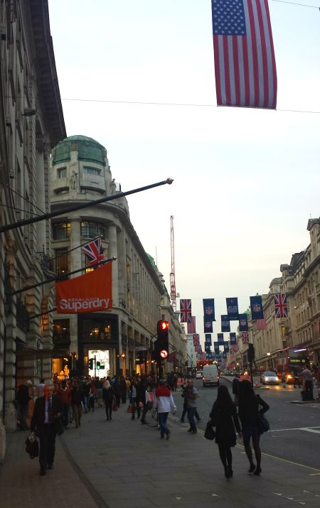 Superdry on Regent's Street
